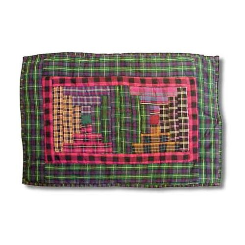 Patch Magic Tartan Log Cabin Placemat