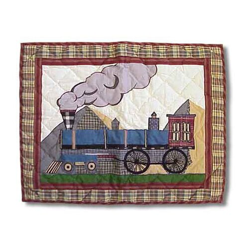 Patch Magic Train Pillow Sham