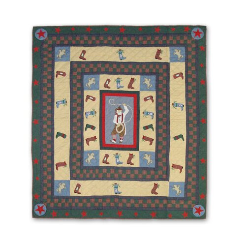 Patch Magic Western Santa Full / Queen Quilt