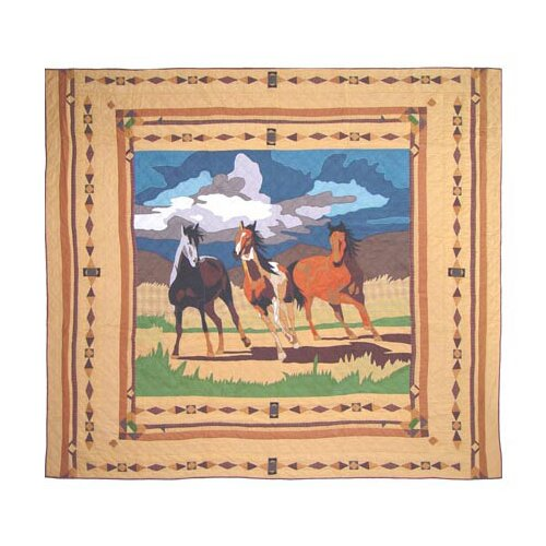 Patch Magic Wild Horses Quilt