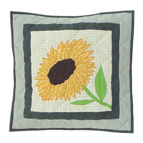 Yellow Field Toss Pillow