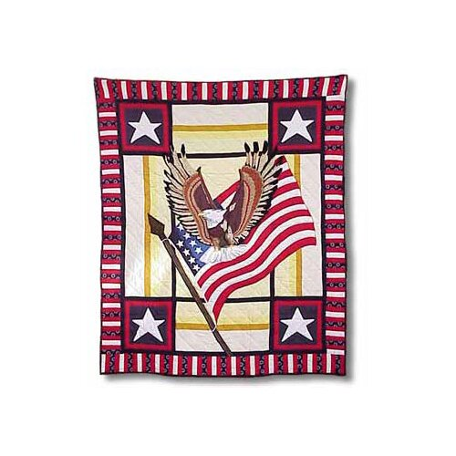 Great American Throw Quilt
