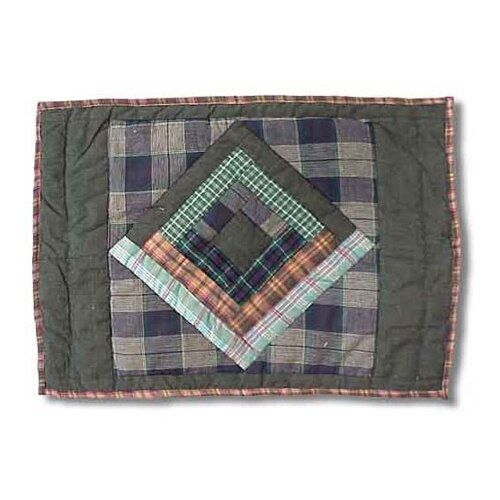 Patch Magic Green Log Cabin Placemat