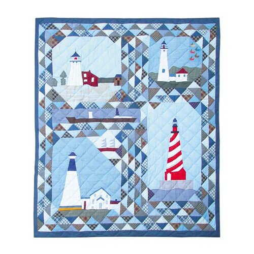 Guiding Lights Throw Quilt