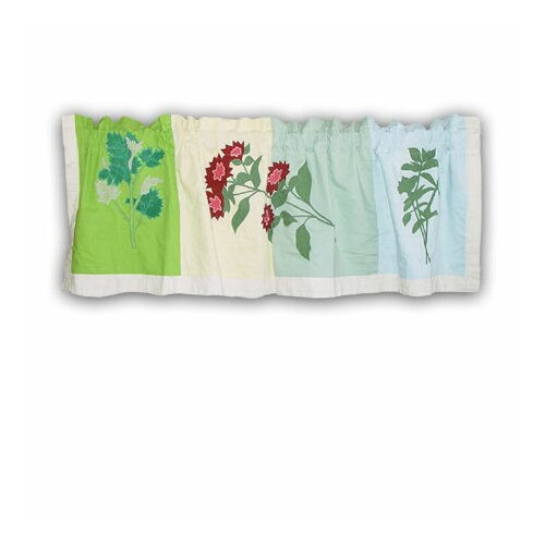 "Patch Magic Herb Garden 54"" Curtain Valance"