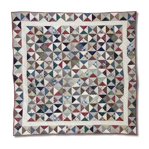 Patch Magic Kaleidoscope Cotton Throw Quilt