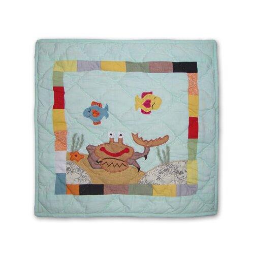 Kids Aquarium Toss Pillow