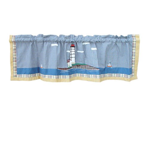 """Patch Magic Lighthouse By Bay 54"""" Curtain Valance"""