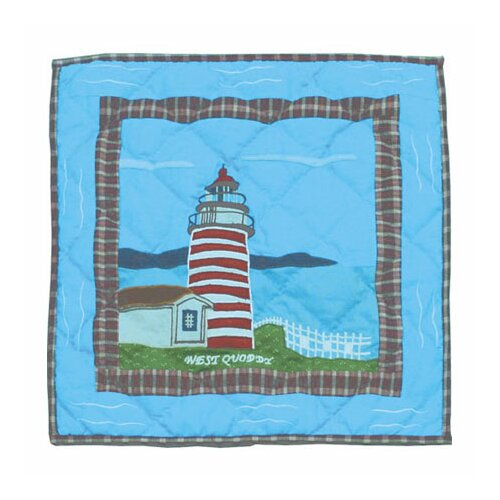 Patch Magic Lighthouse Gallery Toss Pillow