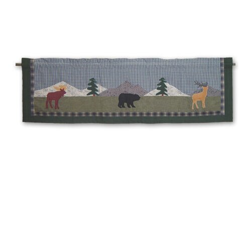 "Patch Magic Northwoods Walk 54"" Curtain Valance"