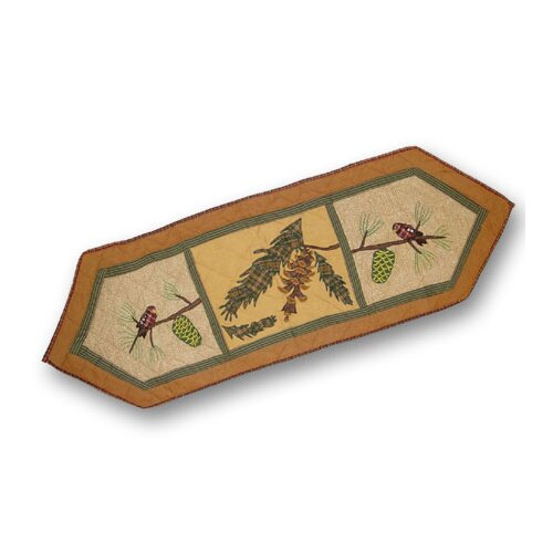 Patch Magic Pinecone Table Runner