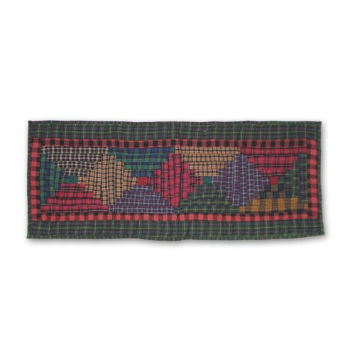 Patch Magic Tartan Log Cabin Table Runner
