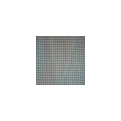 Blue Sky and White Gingham Checks Toss Pillow