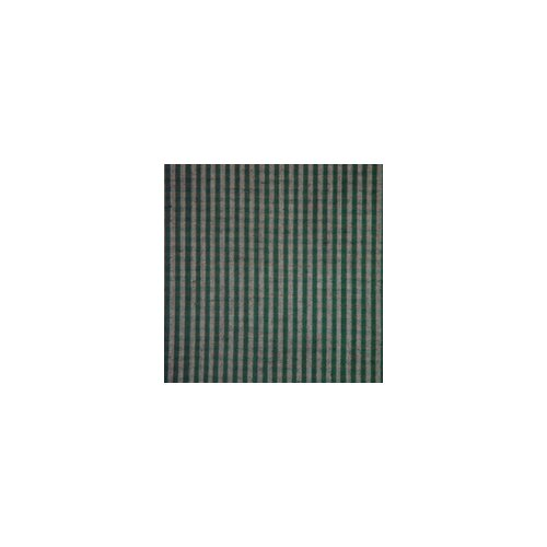 Patch Magic Green Hunter and Tan Checks Bed Skirt / Dust Ruffle