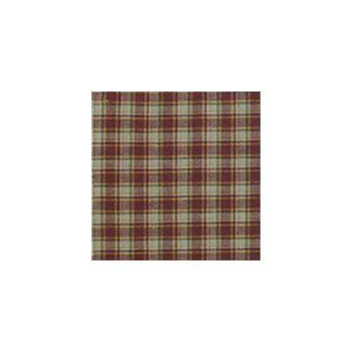 Tan and Gold Rustic Checks Toss Pillow