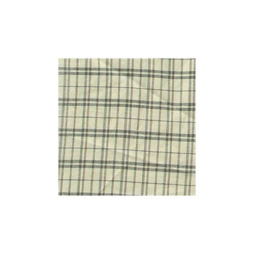 Cream Plaid Toss Pillow