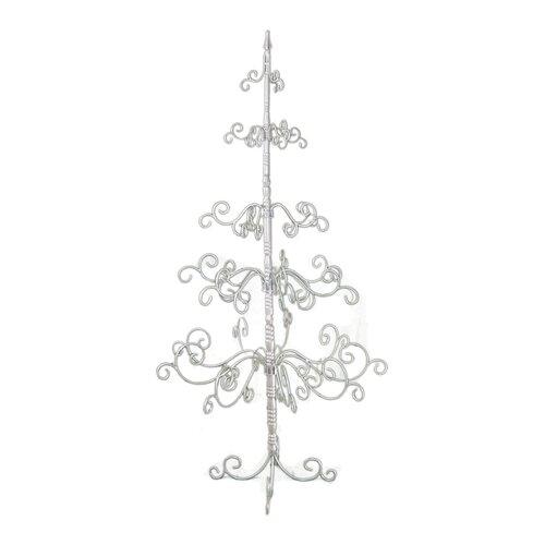 7' Silver Artificial Christmas Tree