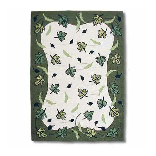 Patch Magic Spring Leaves Kids Rug