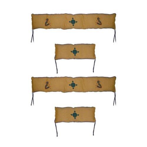 Patch Magic Kokoepelli 4 Piece Bumper Pad Set