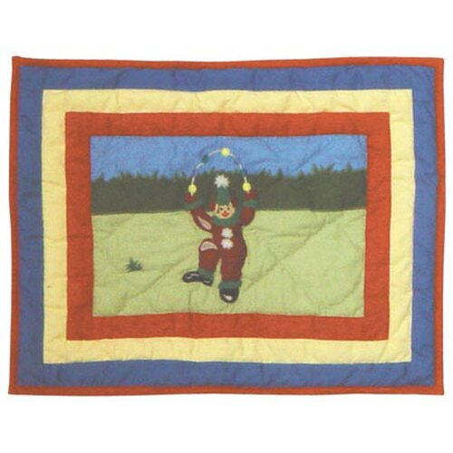 Patch Magic Circus Cotton Crib Toss Pillow