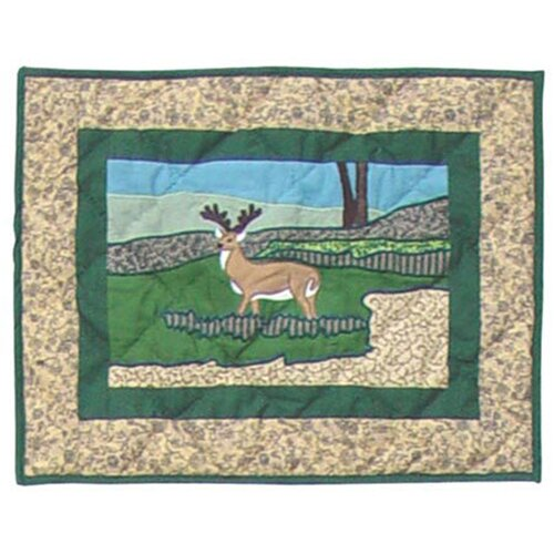 Wilderness Cotton Crib Toss Pillow