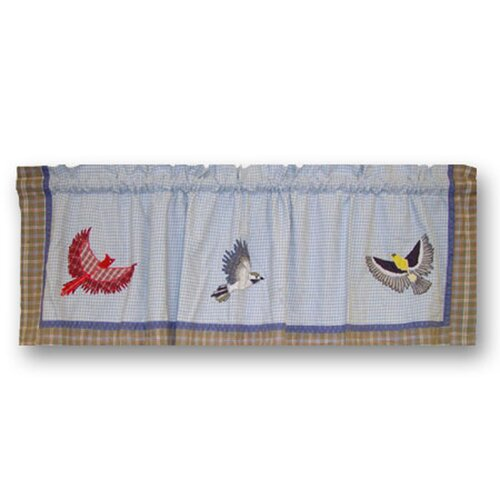 "Patch Magic Songbirds 54"" Curtain Valance"