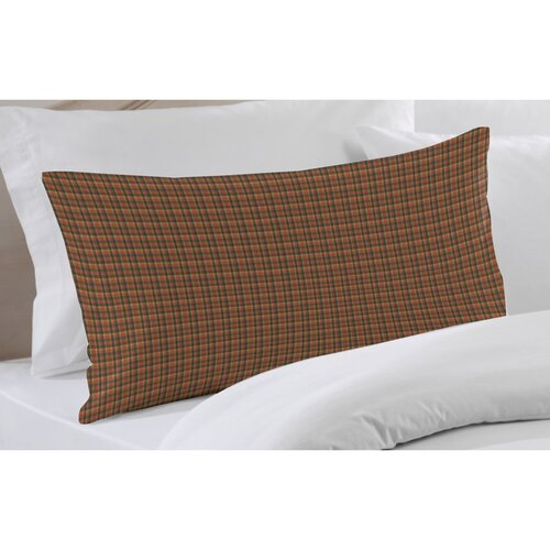 Patch Magic Green and Warm Brown And Red Plaid Sham