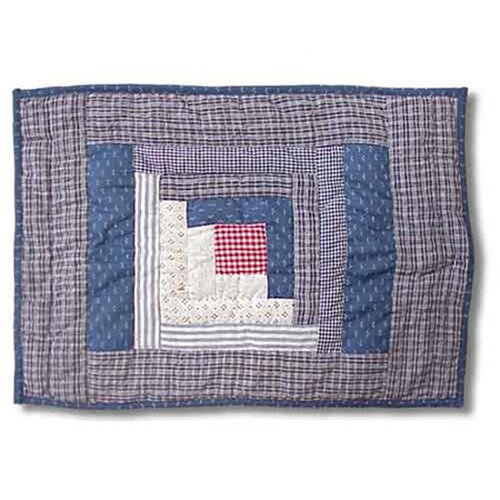 Sail Log Cabin Placemat