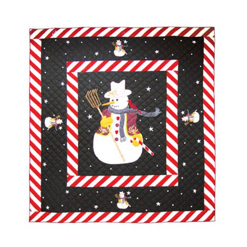 Patch Magic Frosty Snowman Quilt