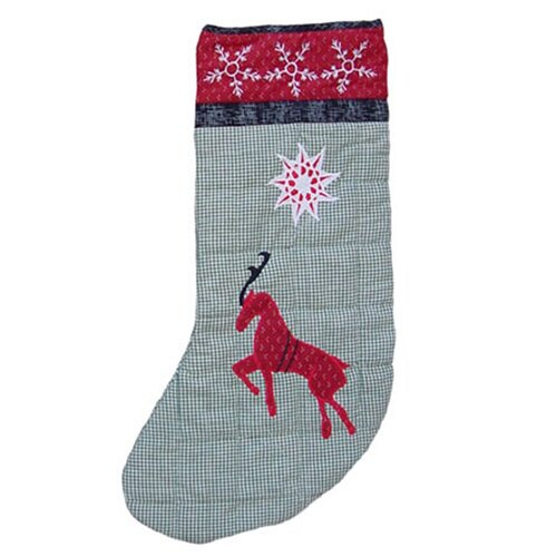 Patch Magic Northpole Fish Tales-Reindr Stocking