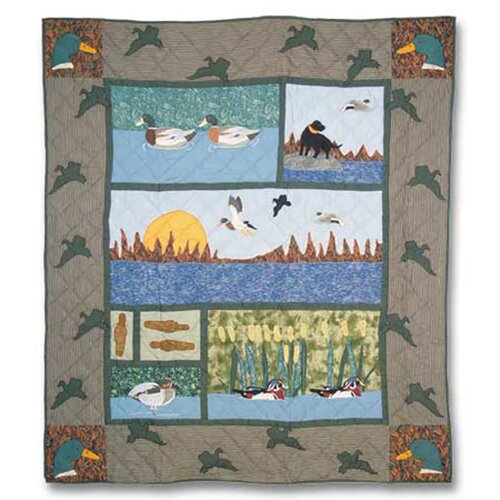 Patch Magic Mallard Cotton Throw