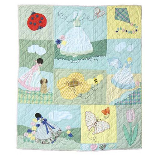 Patch Magic Sundress Cotton Throw