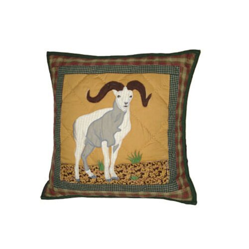 Patch Magic Rocky Mountain Cotton Toss Pillow