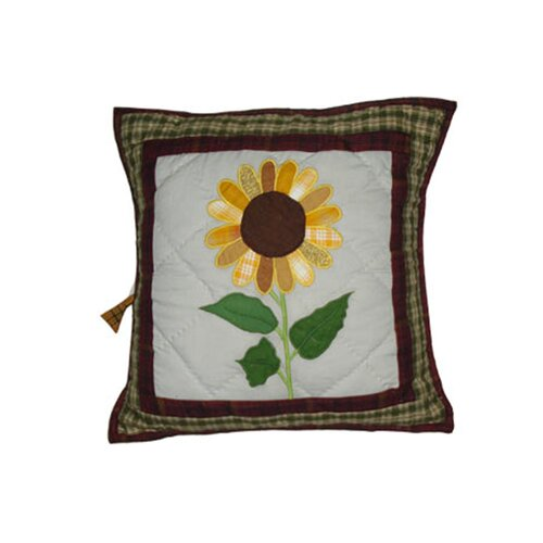 Sun Burst Cotton Toss Pillow