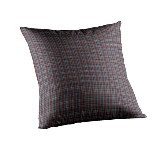 Patch Magic Plaid Fabric Toss Pillow