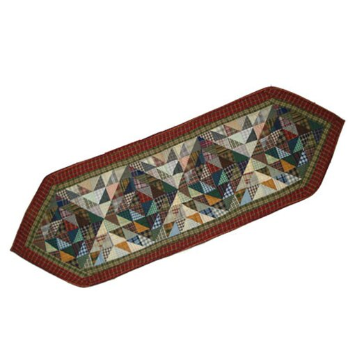 Patch Magic Amazingly Red Table Runner