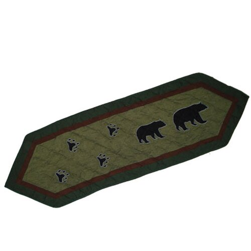 Bear Trail Table Runner