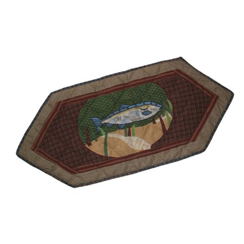 Patch Magic Gone Fishing Table Runner