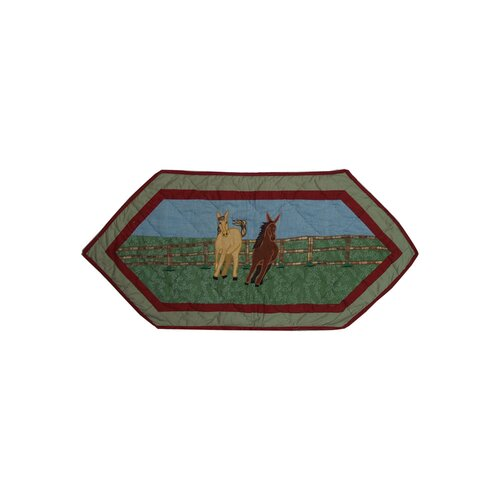 Horse Table Runner