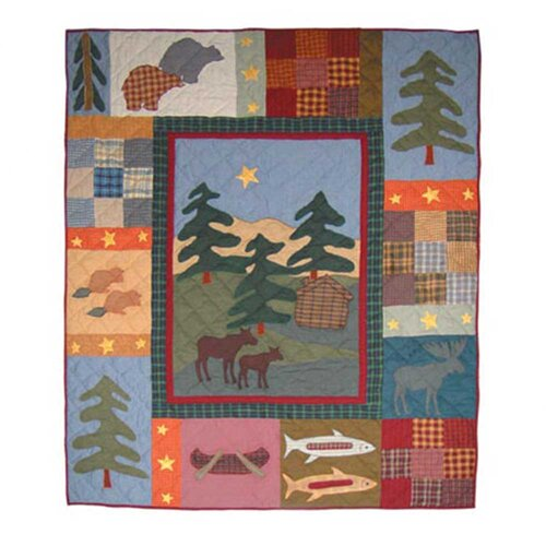Northwood Star Cotton Throw