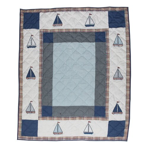 Sail Trail Cotton Throw