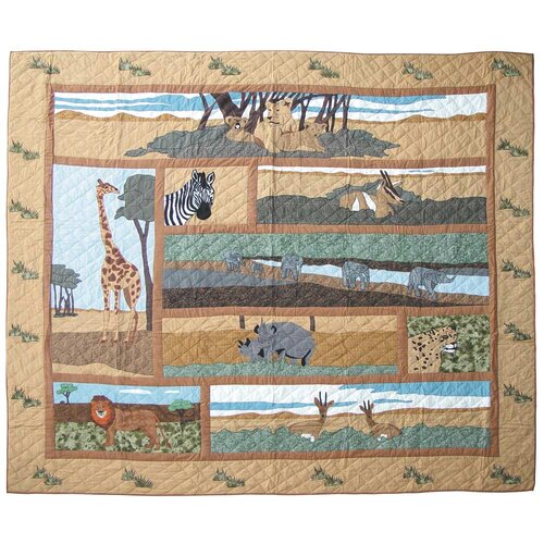 Safari Queen Quilt