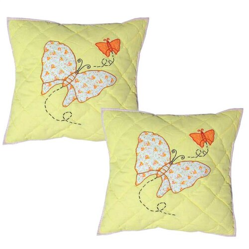 Sundress Butterfly Cotton Pillow (Set of 2)