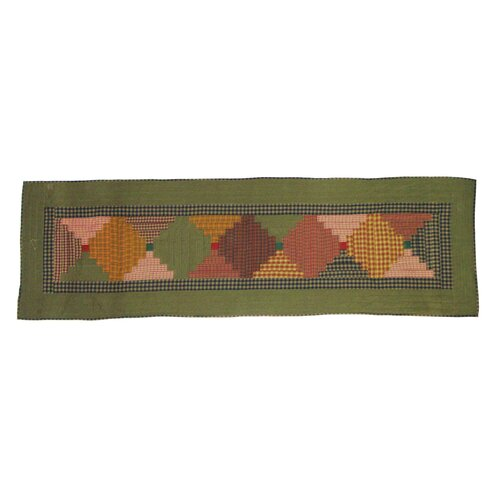 Patch Magic Harvest Log Cabin Bed Scarf