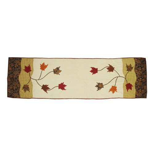 Patch Magic Autumn Leaves Bed Scarf