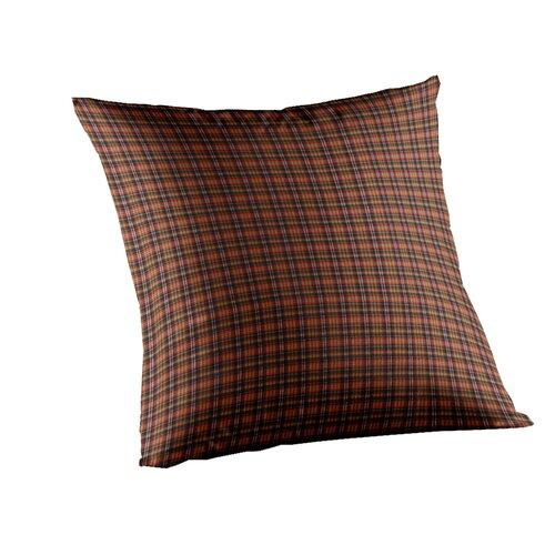 Plaid Cotton Pillow