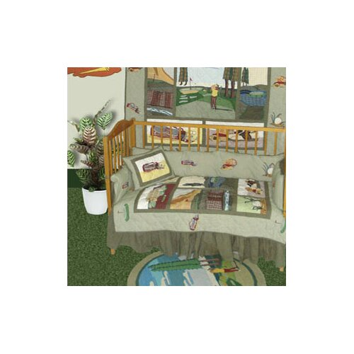Patch Magic Golf 6 Piece Crib Bedding Set