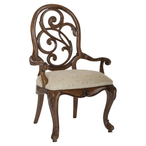 Jessica Mcclintock Splat Back Arm Chair