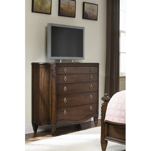 American Drew Jessica Mcclintock Dressing 5 Drawer Chest