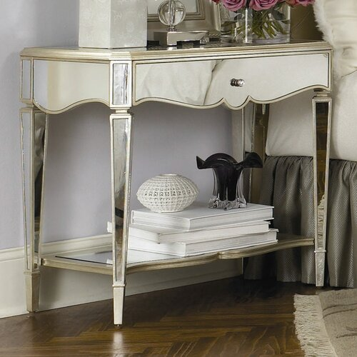 Jessica McClintock 1 Drawer Nightstand